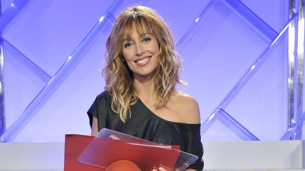 Emma García responde a Toñi poco antes de intercambiarse los programas