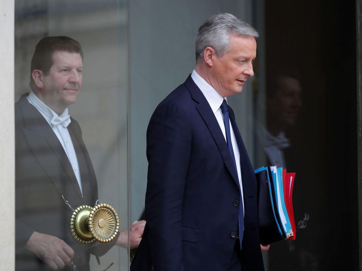 Foto: El ministro de Finanzas, Bruno Le Maire. (Reuters)