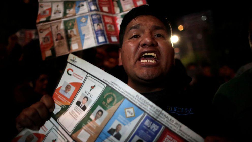 La sospecha de fraude electoral a favor de Morales provoca fuertes protestas en Bolivia