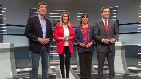 Teresa Rodríguez, Juanma Moreno, Susana Díaz y Juan Marín: los candidatos a ganar las elecciones de Andalucía