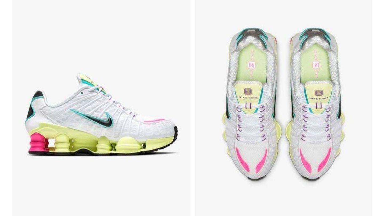 Zapatillas Nike Shox TL. (Cortesía)