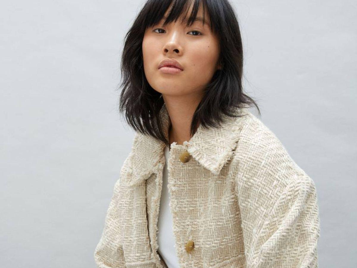 Foto: La chaqueta de tweed de HyM. (Cortesía)