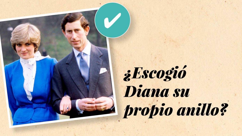 Diana y Carlos, cuando anunciaron su compromiso. (Cordon Press)