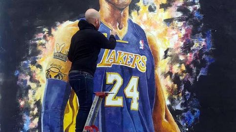 Valencia cuenta con un mural que rinde homenaje a Kobe Bryant