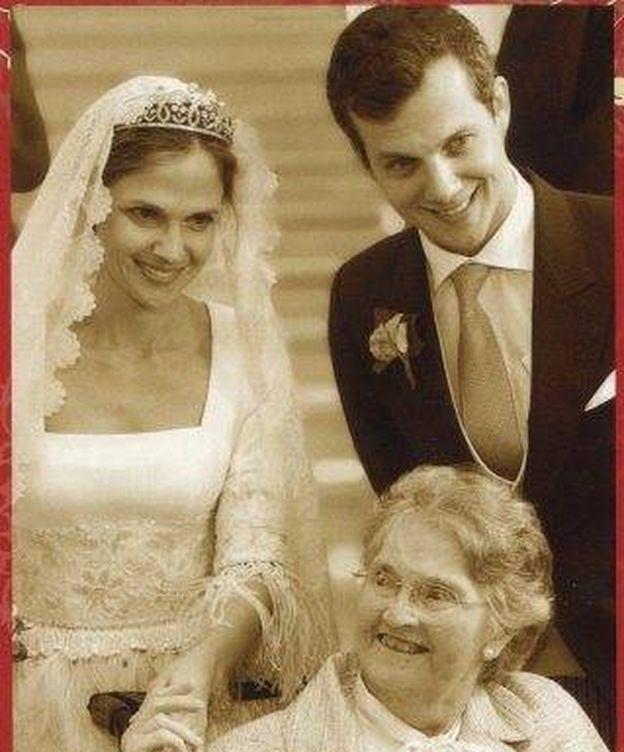 Foto:  Alix en la boda de su nieta Alix. (Cour Gran Ducale)
