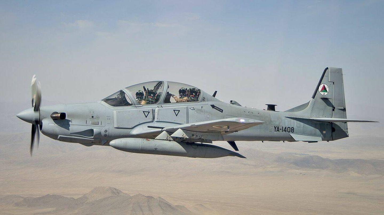 A-29 Super Tucano de la Fuerza Aérea Afgana. (USAF)