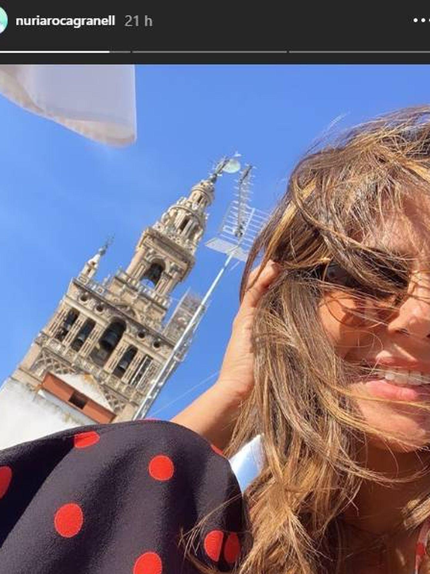 Nuria Roca en Sevilla. (IG)