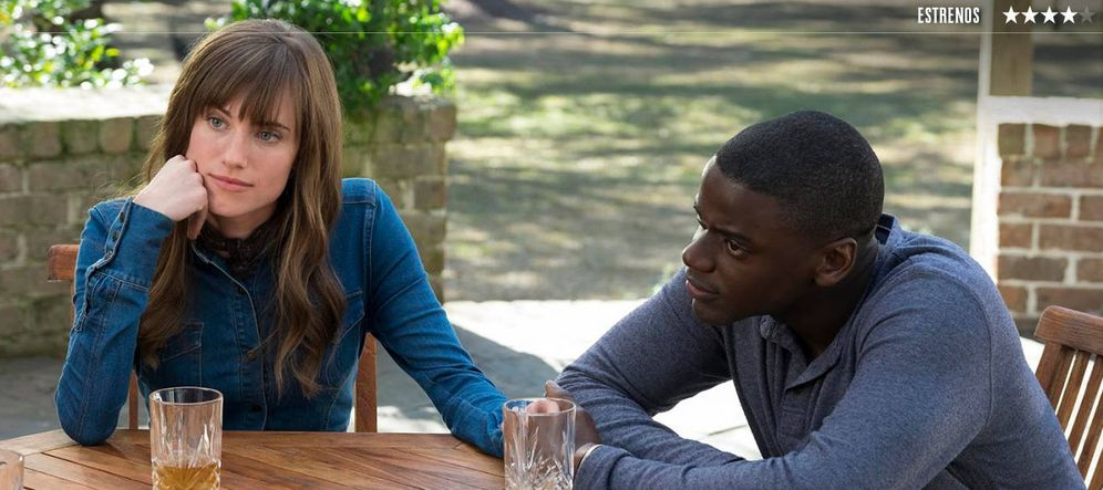 Foto: Allison Williams y Daniel Kaluuya, en 'Déjame salir'.