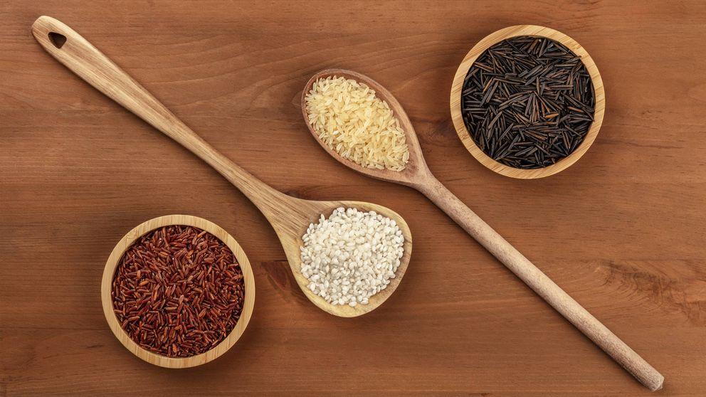 El arroz blanco es el peor: por qué pasarte al rojo o al negro
