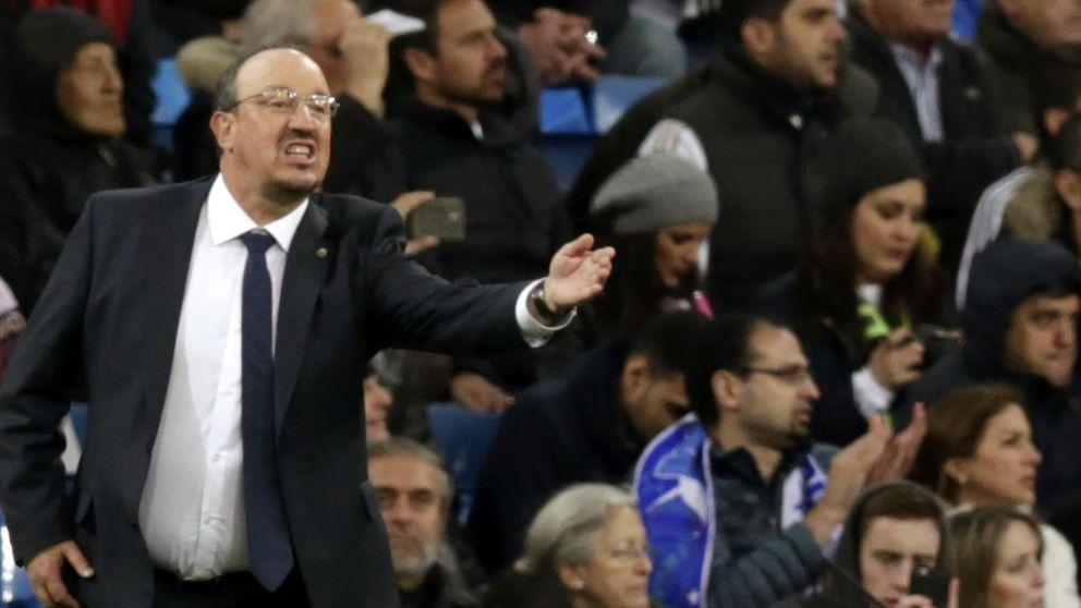 El vestuario del Real Madrid no aguanta a un Rafa Benítez contra las cuerdas