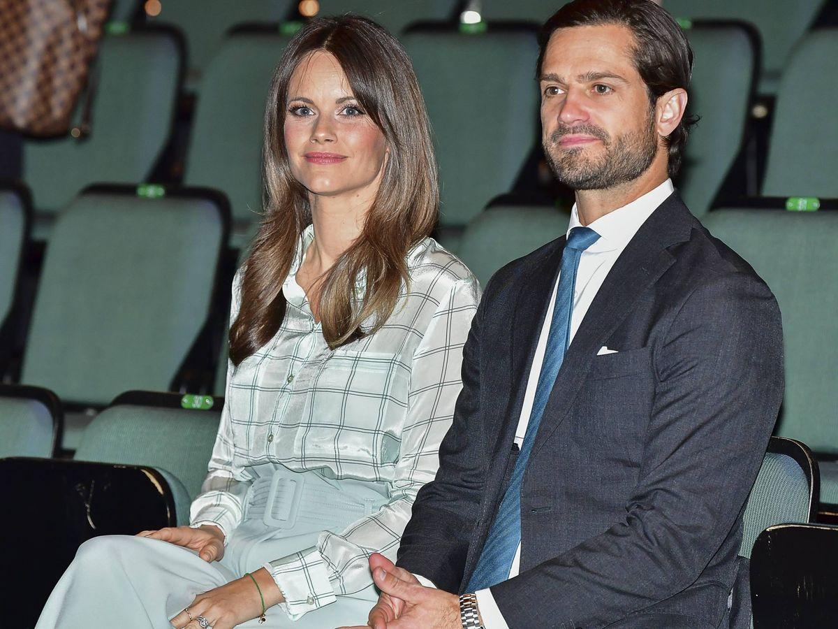 Foto: Los príncipes Carlos Felipe y Sofía de Suecia. (Cordon Press)