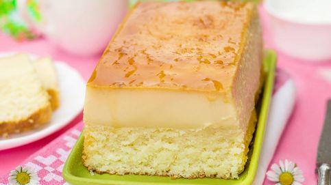 Triunfa con esta tarta de leche condensada y bizcocho aunque no sepas nada de repostería