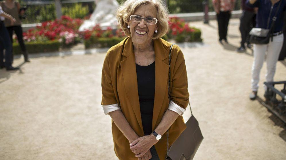Foto: Manuela Carmena asegura que será la próxima alcaldesa de Madrid. (Reuters)