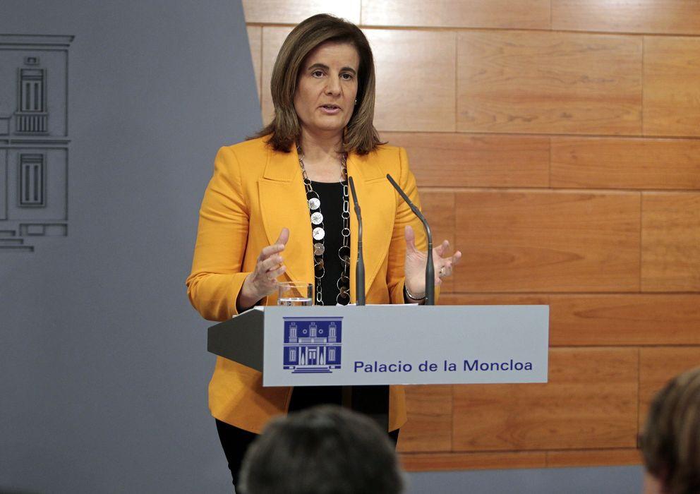 Foto: La ministra de Empleo y Seguridad Social, Fátima Báñez (EFE)