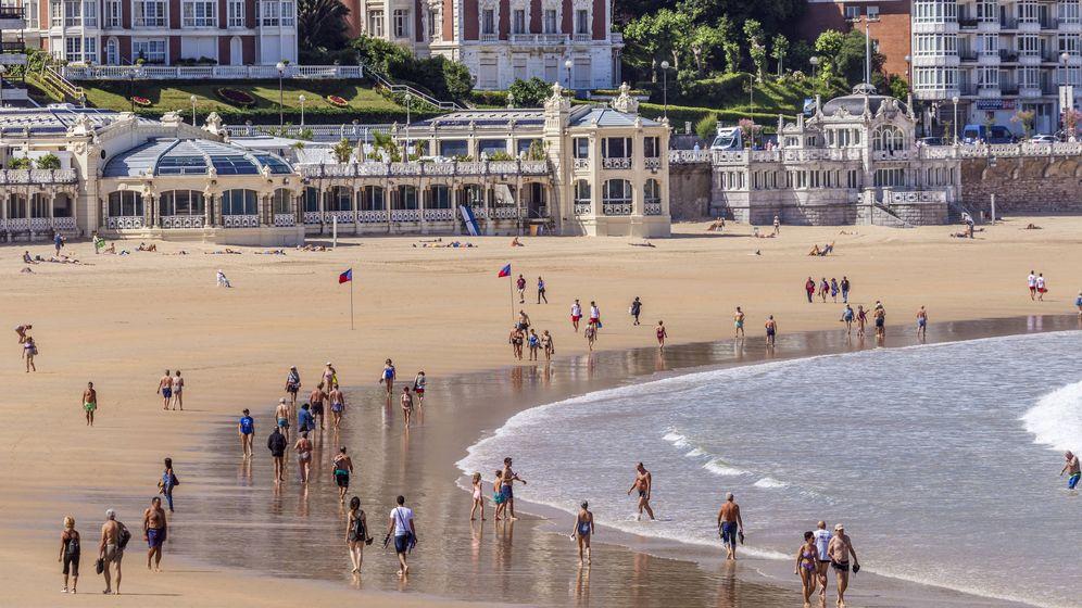 Foto: Playa de la Concha, en San Sebastián. (iStock)