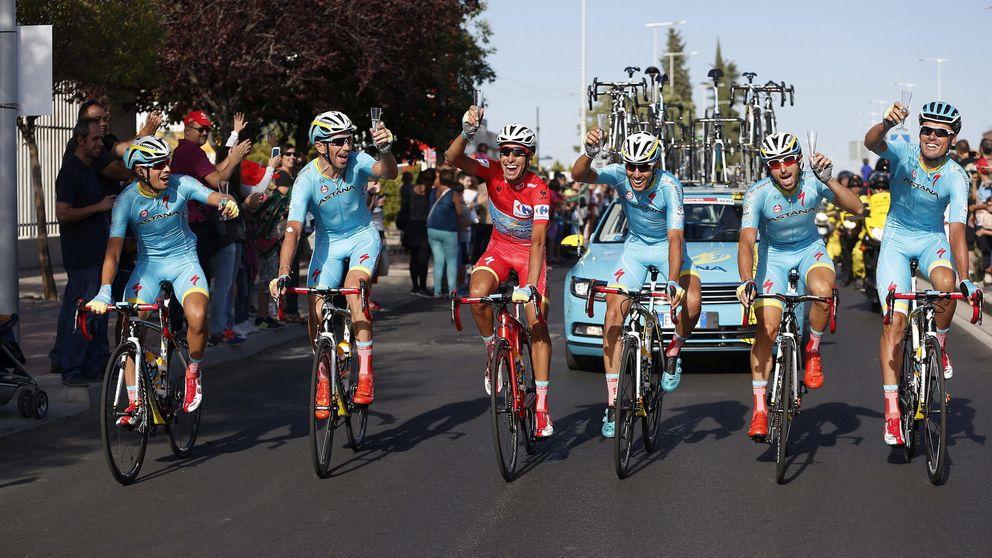 Fabio Aru presume de ganar al estilo Contador una Vuelta sin Contador