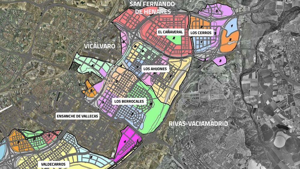 Foto: Desarrollos del sureste de Madrid
