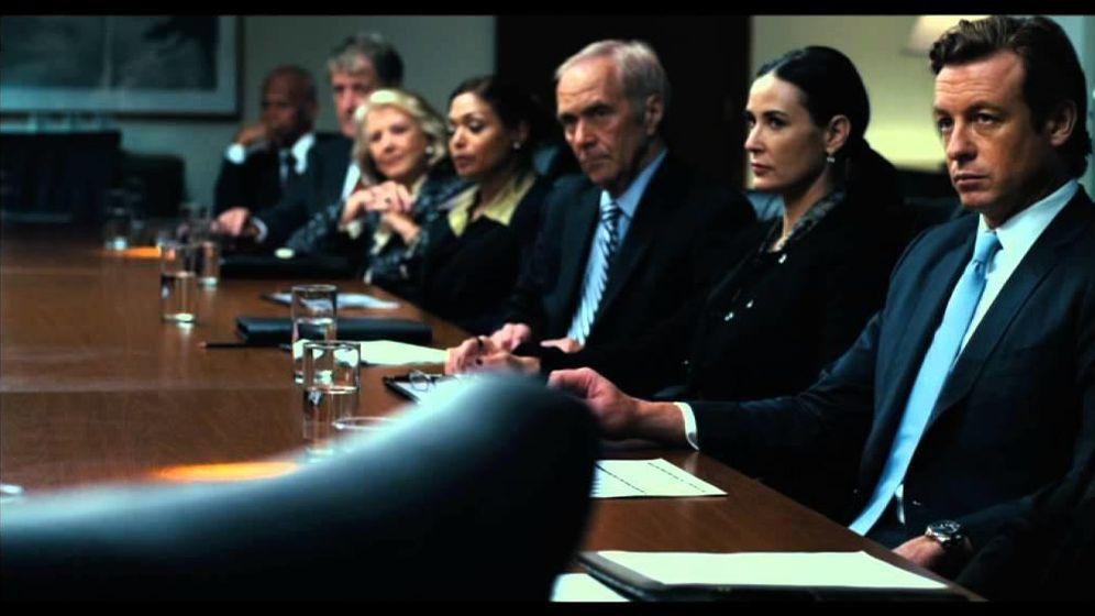 Foto: Fotograma de la película 'Margin Call'.