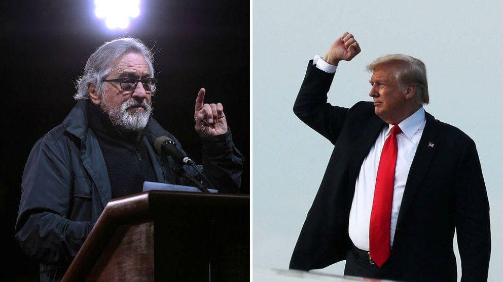 La pelea Donald Trump vs. Robert de Niro sigue: el presidente carga contra el actor