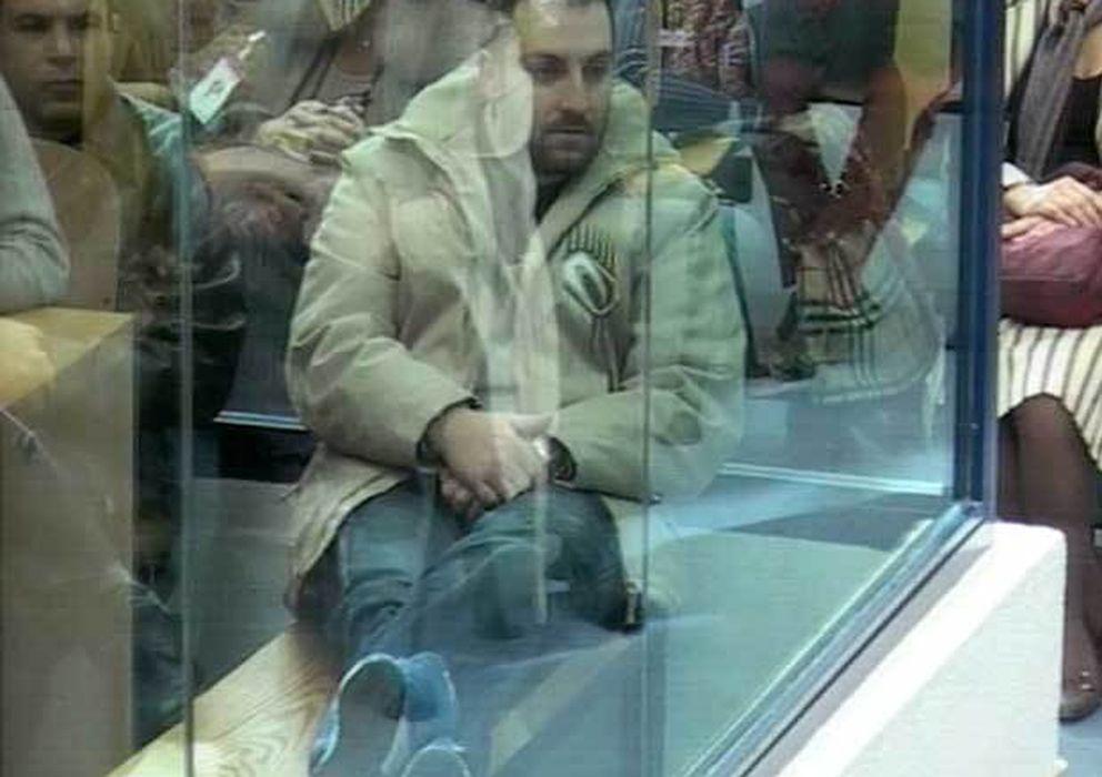 Foto: Emilio Suárez Trashorras, en una de las sesiones del juicio del 11-M. (Efe)