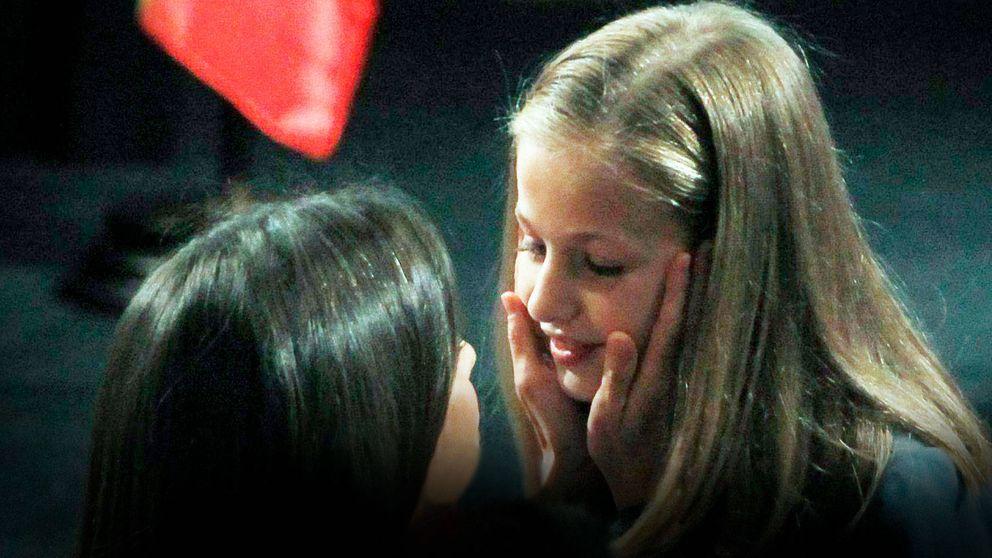 Del alzador de Leonor a Letizia emocionada: las anécdotas del debut de la princesa