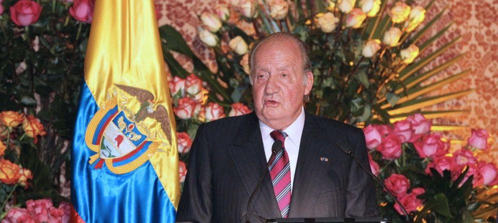 Foto: El Rey Juan Carlos durante su discurso (Efe)