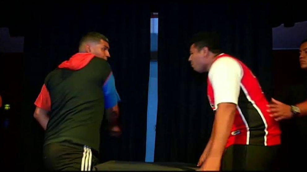 Perú celebra el primer campeonato de bofetadas de Latinoamérica