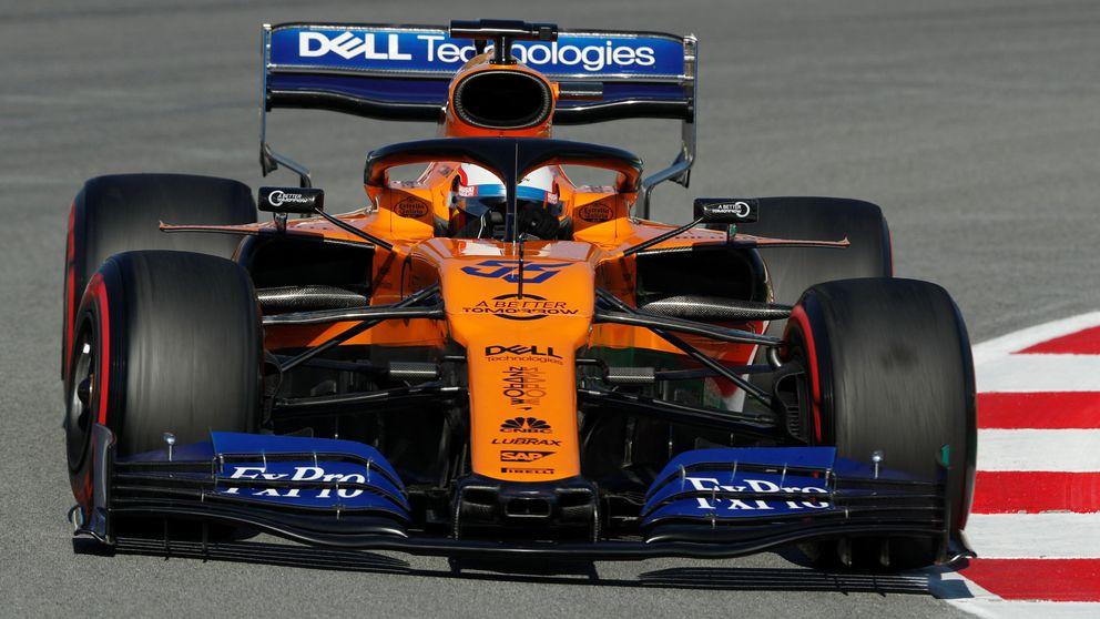 Fórmula 1: Sainz y McLaren marcan el ritmo en una jornada aciaga de Ferrari