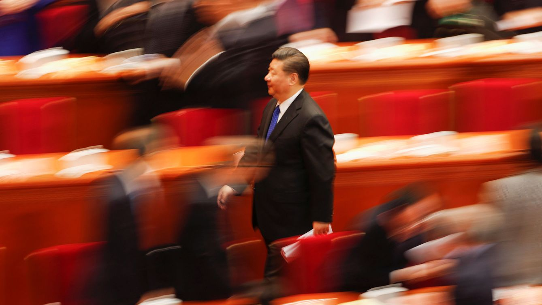 Foto: El presidente chino Xi Jinping durante una sesión en el Gran Salón del Pueblo en Pekín, el 3 de marzo de 2018. (Reuters)