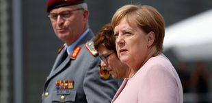 Post de Angela Merkel está de retirada