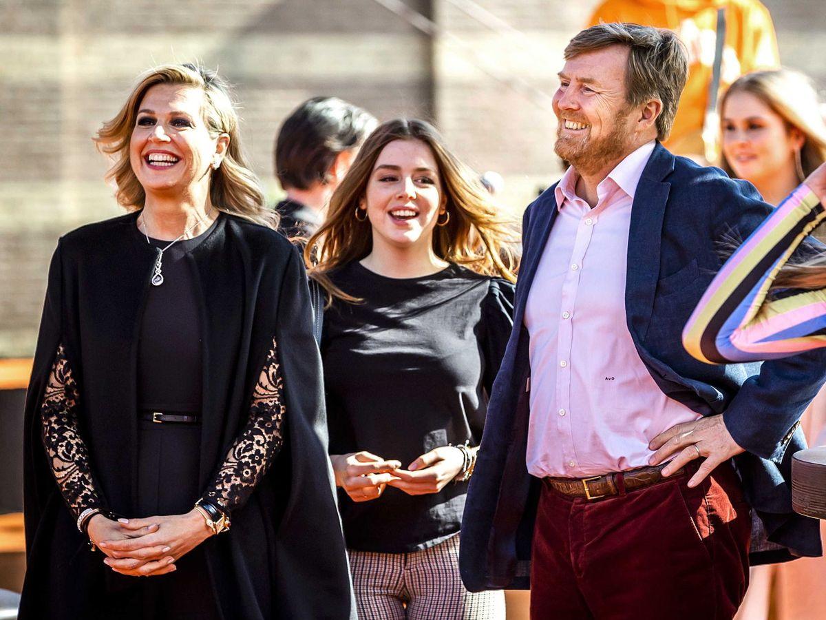 Foto: La familia real, de concierto en el Día del Rey. (EFE)
