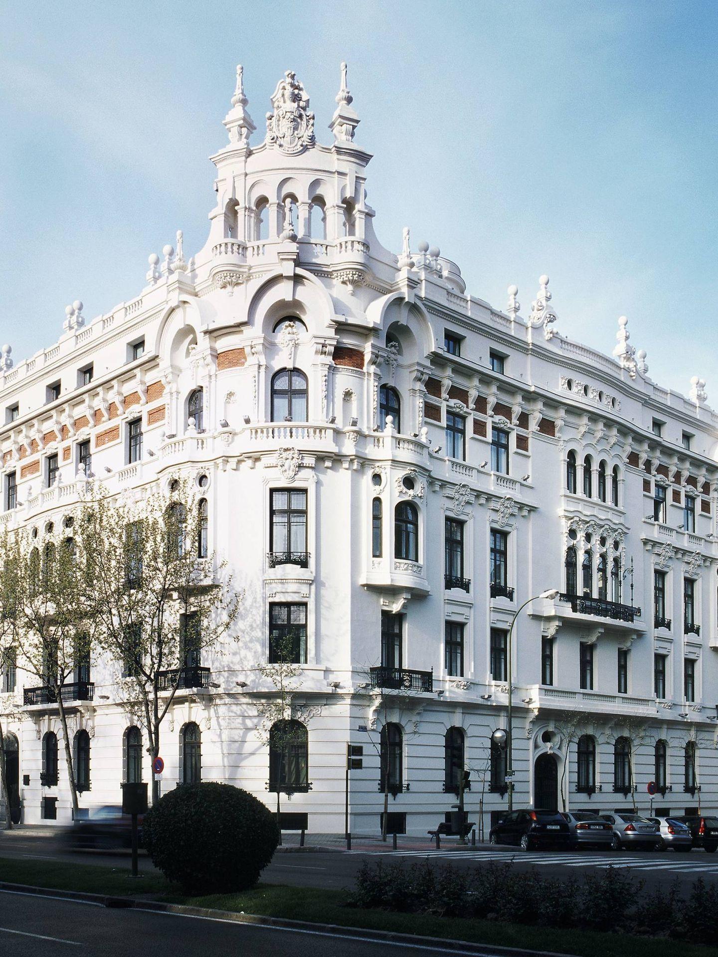 Fachada del hotel AC Palacio del Retiro.
