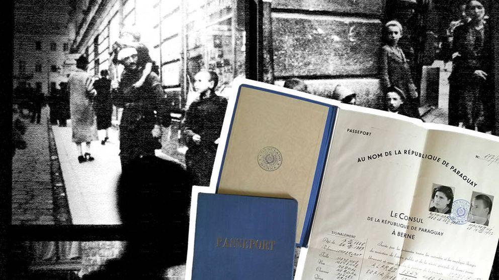 La red clandestina que salvó a mil judíos con falsos pasaportes latinoamericanos