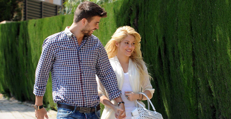 Foto: Gerard Piqué y Shakira