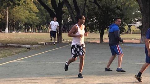 Ronaldinho en la cárcel: el éxito de ganarle en un partido de futvóley