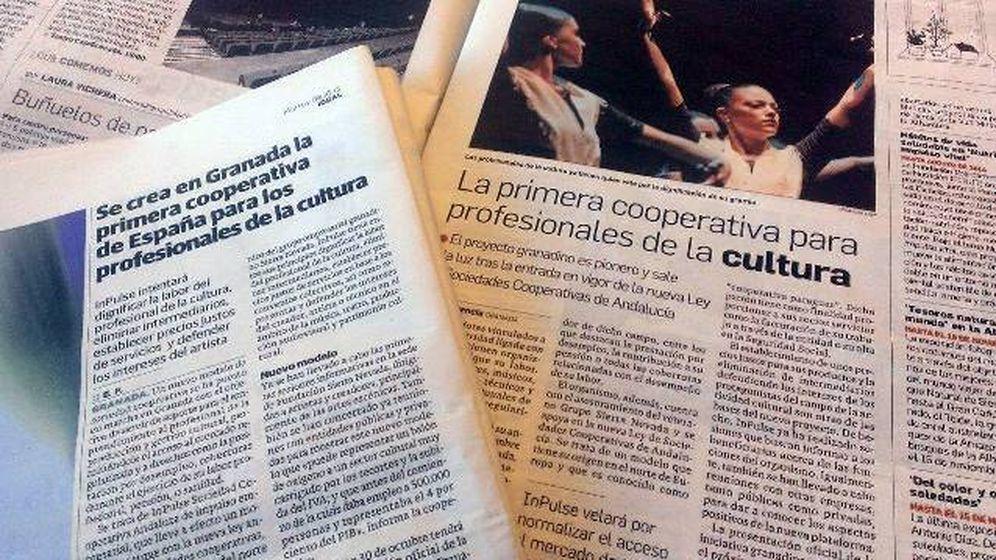 Foto: InPulse nació en 2013 en Granada como cooperativa para músicos y profesionales del espectáculo.
