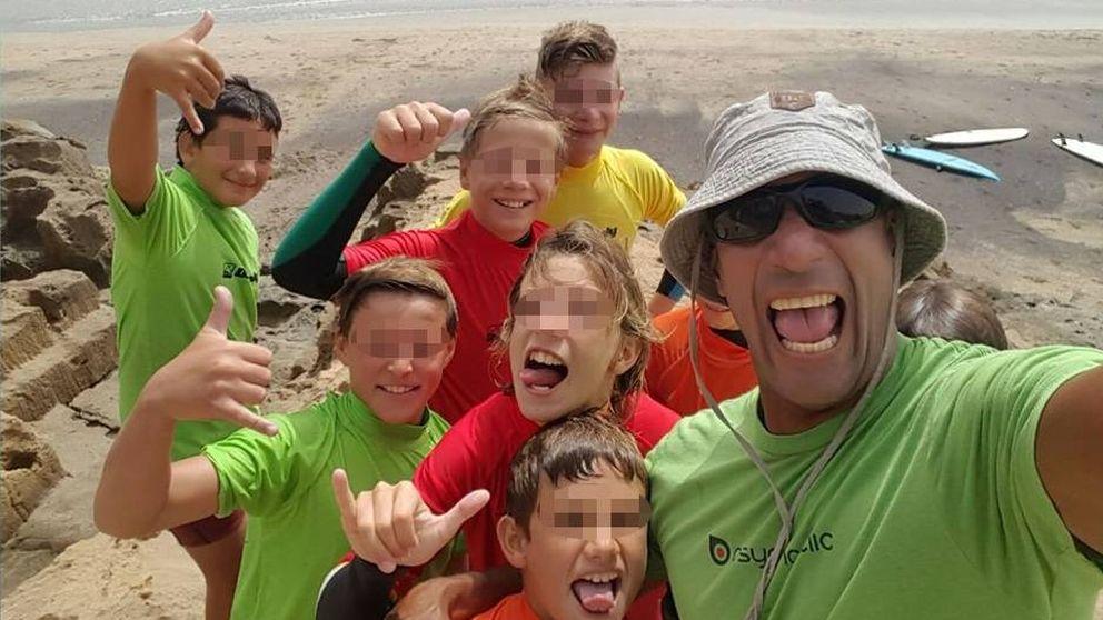 Gilbert Báez, el surfista que huyó de Venezuela en busca de pañales