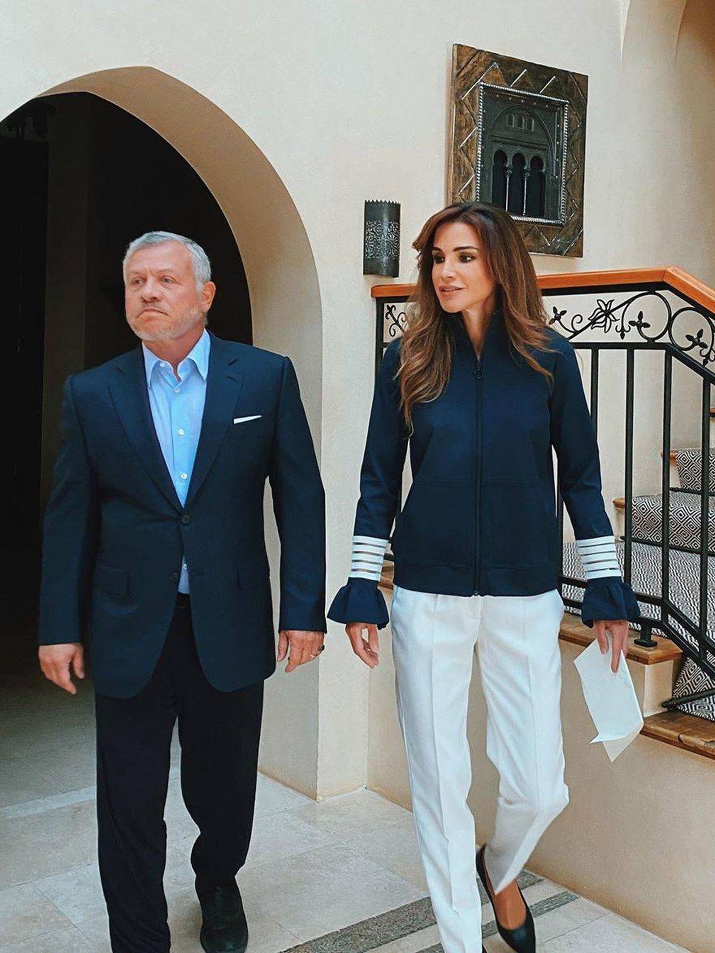 La reina Rania, este fin de semana. (Instagram: @queenrania)