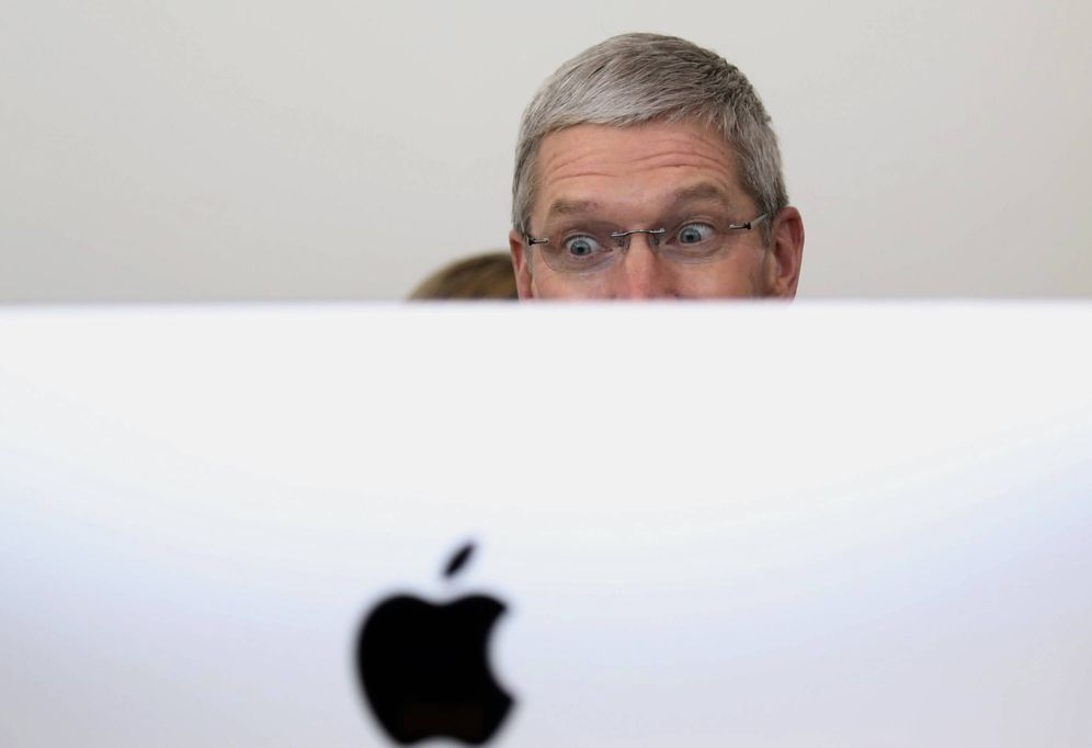 Foto: El jefe de Apple, Tim Cook. (Reuters)