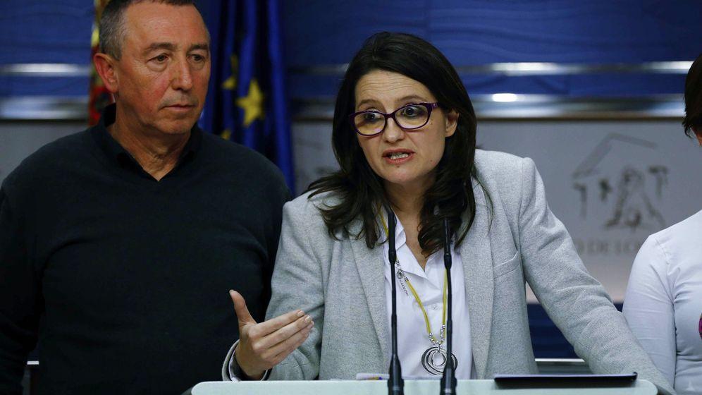 Foto: Mónica Oltra y Joan Baldoví, en una imagen de archivo. (EFE)