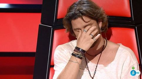 Manuel Carrasco, totalmente derrumbado en 'La Voz'