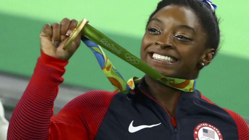 Foto: La gimnasta estadounidense Simone Biles. (Reuters)