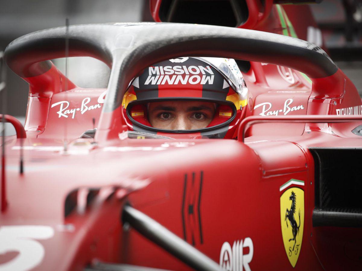 Foto: Carlos Sainz perdió su mejor oportunidad para lograr la primera pole en la Fórmula 1
