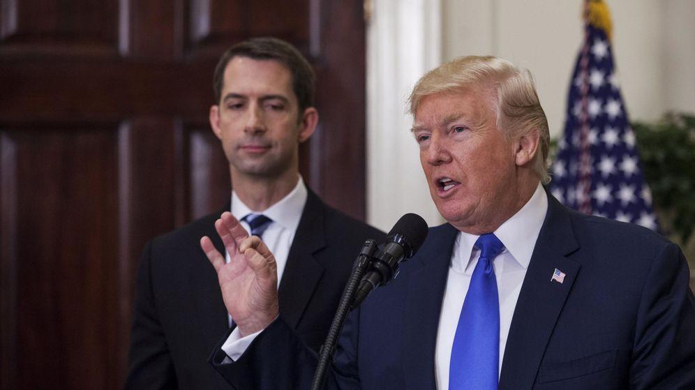 Foto: l presidente de EEUU, Donald Trump (c), avala la Ley de Reforma de la Inmigración Estadounidense para un Empleo Fuerte. (EFE)