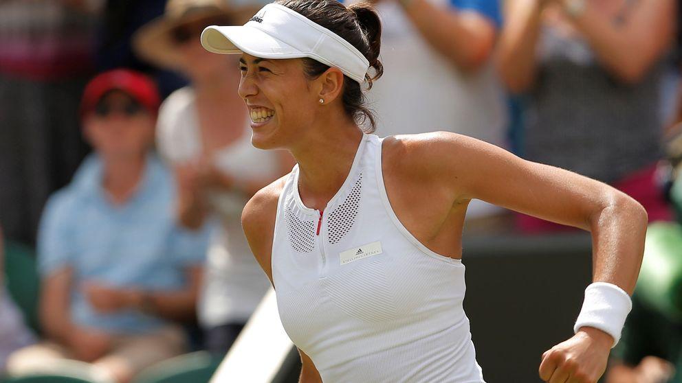 Garbiñe, con la cabeza en su sitio, con la mente en la gran final de Wimbledon