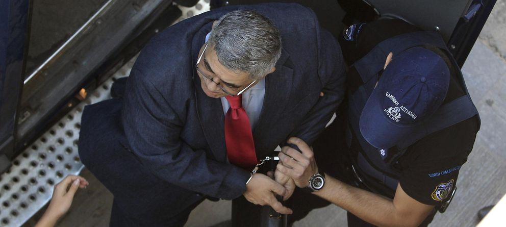 Foto: El líder del partido neonazi griego Amanecer Dorado, Nikos Mijaloiakos. (EFE)