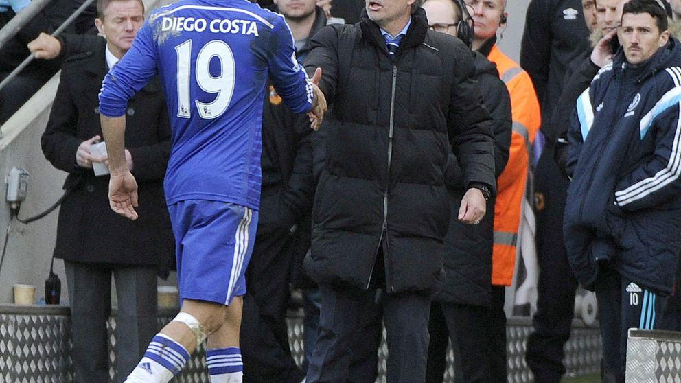 Costa, lesionado, no viaja a Madrid y será examinado en Londres
