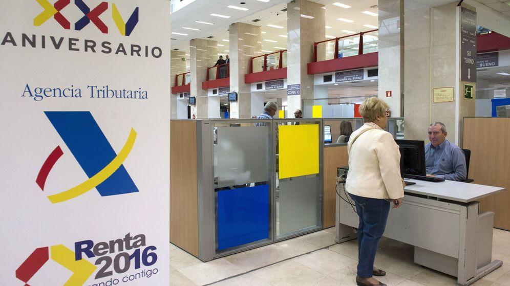 Foto: Vista de las instalaciones de la Delegación Especial de la Agencia Tributaria en Madrid. (EFE)