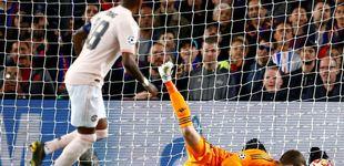 Post de La cantada de David De Gea en el segundo gol de Messi al Manchester... y los 'memes'