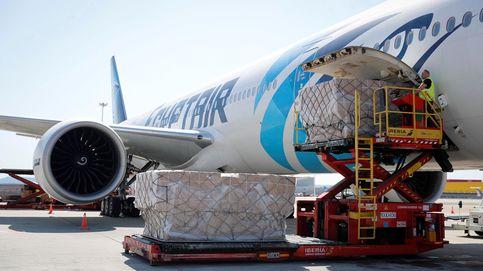 Madrid recibe el tercer avión en una semana y suma 700 toneladas de material sanitario